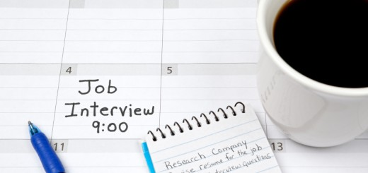 Preparing for Job Interview: Calendar and Plan